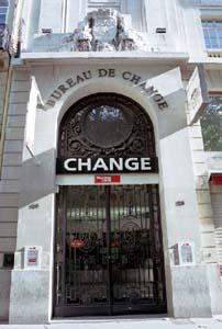 Bureau de change 25 boulevard des capucines paris 02 for Paris 13 bureau de change