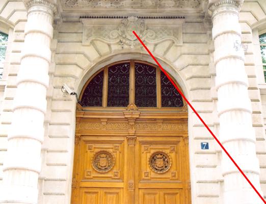 Porte de la pr fecture de police 7 et 9 boulevard du palais paris 04 - Prefecture de police porte de clignancourt ...