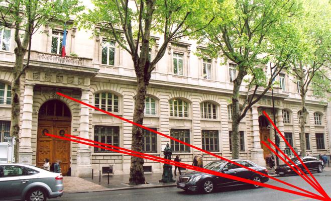 Porte de la pr fecture de police 7 et 9 boulevard du - Prefecture de police porte de clignancourt ...