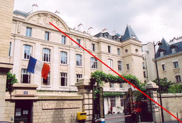 Caserne De Pompiers 24 28 Rue Blanche Paris 09